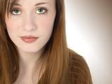 beautiful redhead teen poster