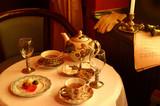 evening tea poster