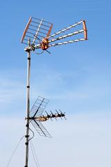 antena  en el cielo