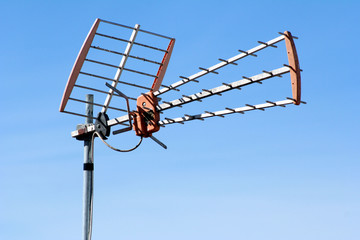 antena t.v.