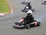 cornering go kart poster