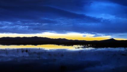 levée de soleil en mongolie