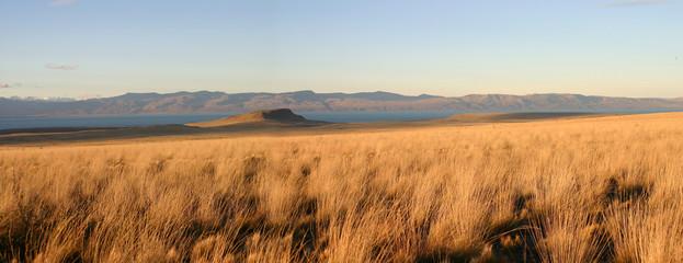 vue panoramique de la patagonie