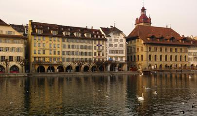 switzerland , luzern: nice facades