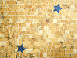 floor mosaic tile pattern poster