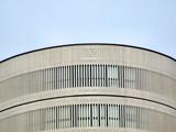 modern building elevation poster