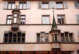 switzerland , luzern: nice facade poster