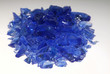 granulats bleus