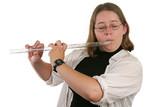 student flautist poster