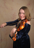 classical violinist 1 poster
