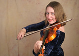 classical violinist 2 poster