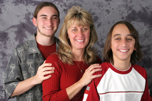 poster of mom & sons portrait 1