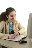 teen digitally drawing 2 poster