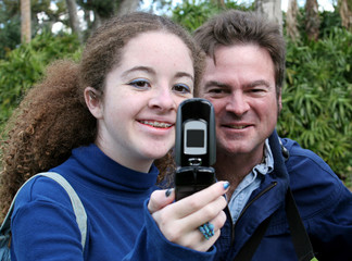 teen dad & camera phone