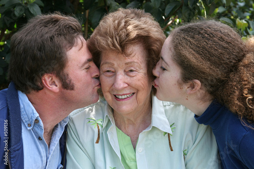 kiss for grandma