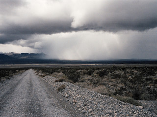 winter desert storm