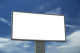 blank billboard, just add your text poster