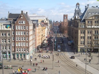 amsterdam city von oben