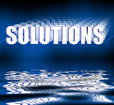 solutions 3d reflection poster
