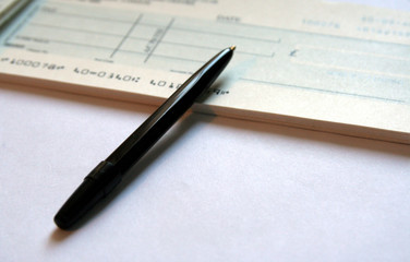 writing a cheque 2