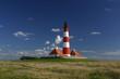 Leinwanddruck Bild - der leuchtturm von westerhever