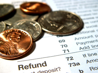 federal income tax refund
