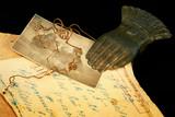 vintage paper manuscripts poster