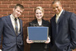 business team laptop