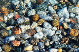 colorful pebbles poster