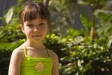 girl in tropic poster
