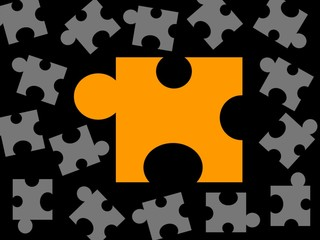 puzzles all over