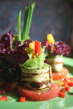 baked vegetables poster