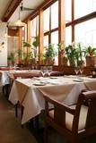 Fototapety interior of restaurant