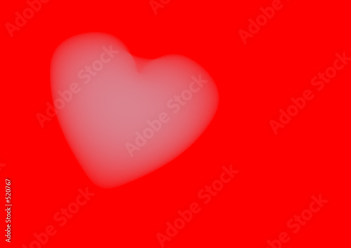 Leinwanddruck Bild heart