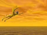 fairy skies poster