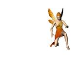 yellow fairy eight poster