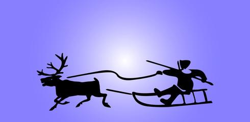 eskimos and reindeer