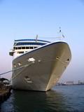large cruise ship poster