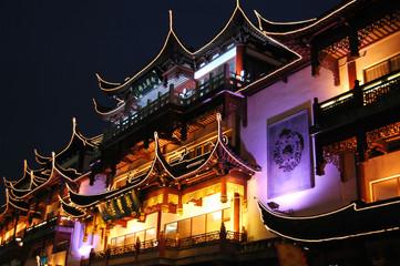 noc w stary Szanghaj