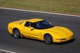 Corvette Z06 a pályán