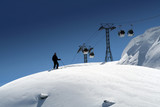 ski  hors pistes poster