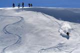ski hors piste poster