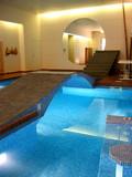 pool and sauna poster