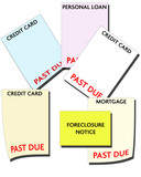 bankruptcy - consumer debt poster