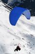 parapente bleu