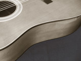 acoustic guitar curves poster
