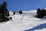 piste de ski poster