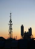 industrial skyline poster