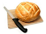 bread and knife poster