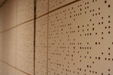 soundproof wall in a bandroom